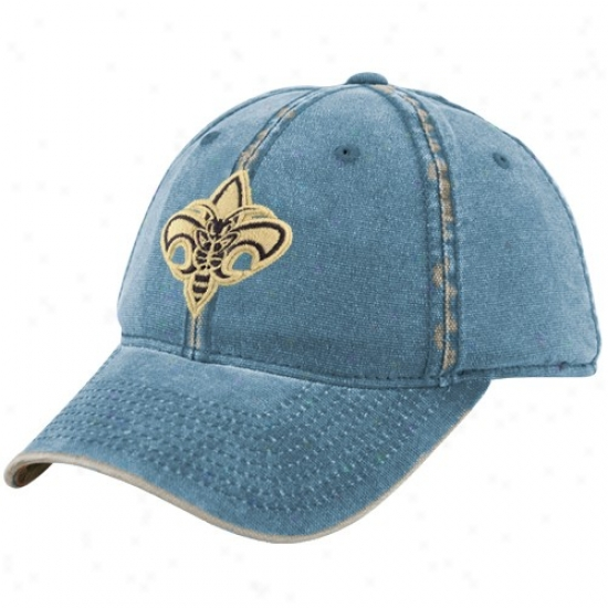Hornets Hats : Adidas Hornets Teal Distressed Flex Fit Hats