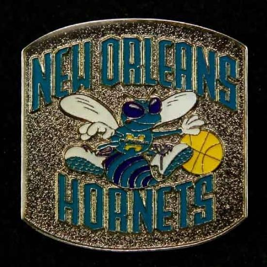 Hornets Merchandise: Hornets Team Logo Pin