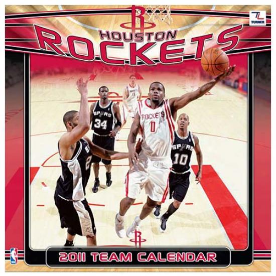 Houston Rockets 2011 Wall Calendar