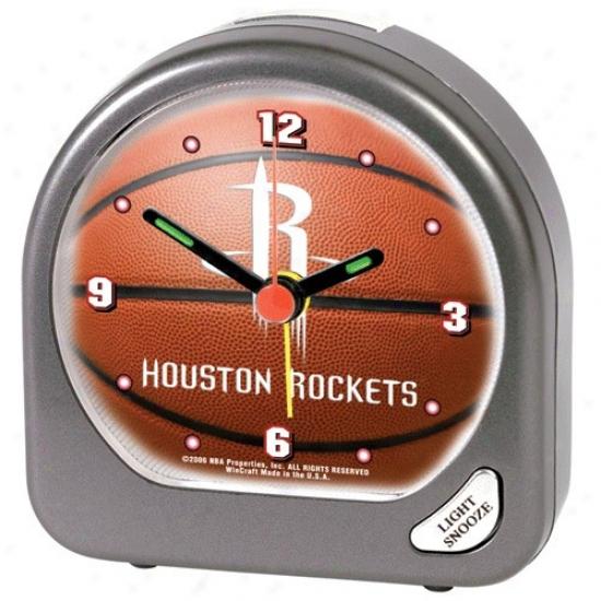 Houston Rockets Plastic Alarm Clock