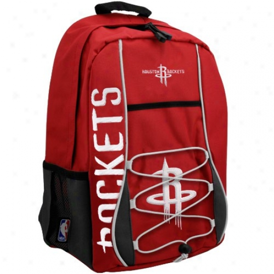 Houston Rockets Red Standard Backpack