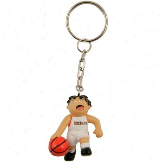 Houston Rockets Sports Dog Keychain