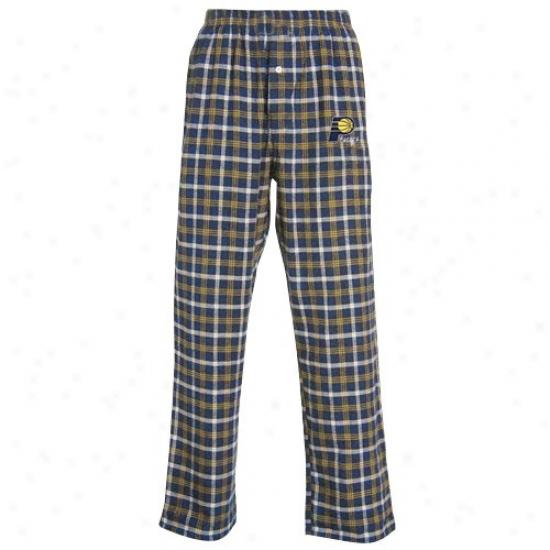 Indiana Pave5s Navy Blue Tailgate Pajama Pants