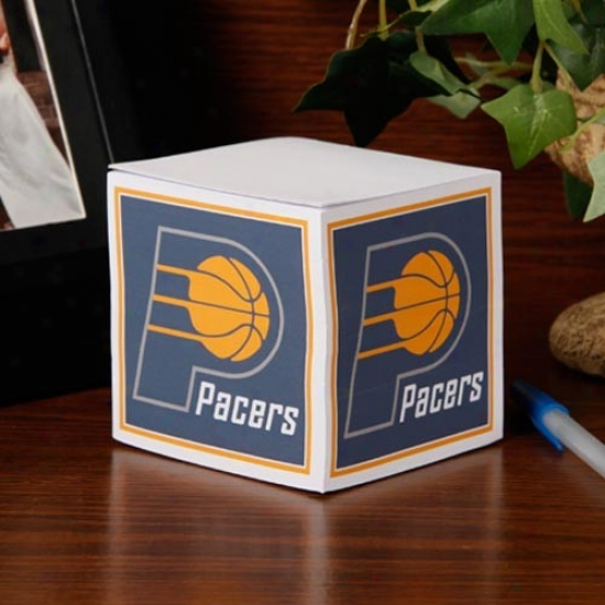Indiana Pacers Note Cube