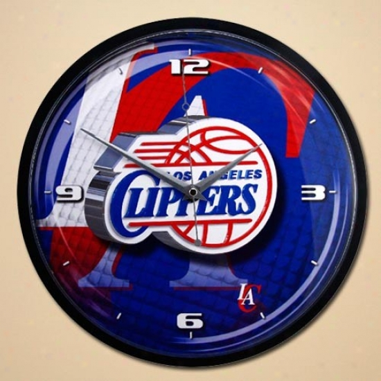 Los Angeles Clippers 21'' Wall Clock