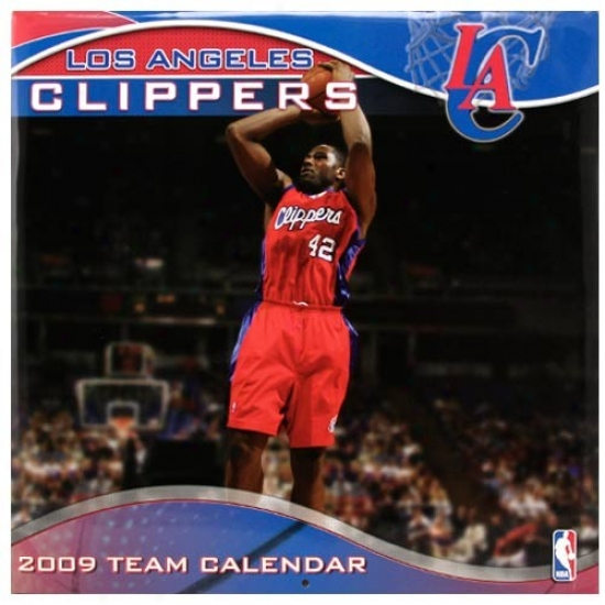 Los Angeles Clippers 2009 Team Calendar