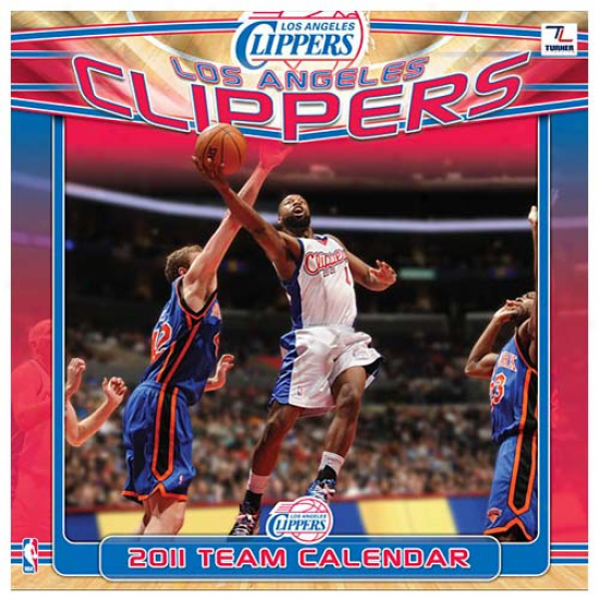 Los Angelea Clippers 2011 Wall Calendar