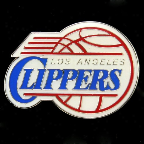 Los Angelrs Clippers Hat : Los Angeles Clippers Team Logo Pin