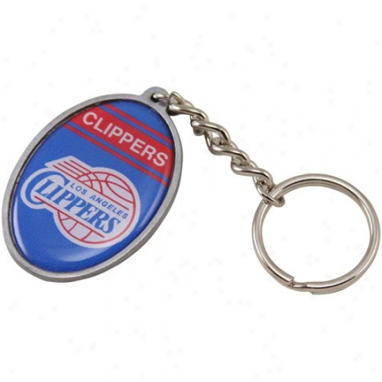 Los Angeles Clippers Oval Keychain