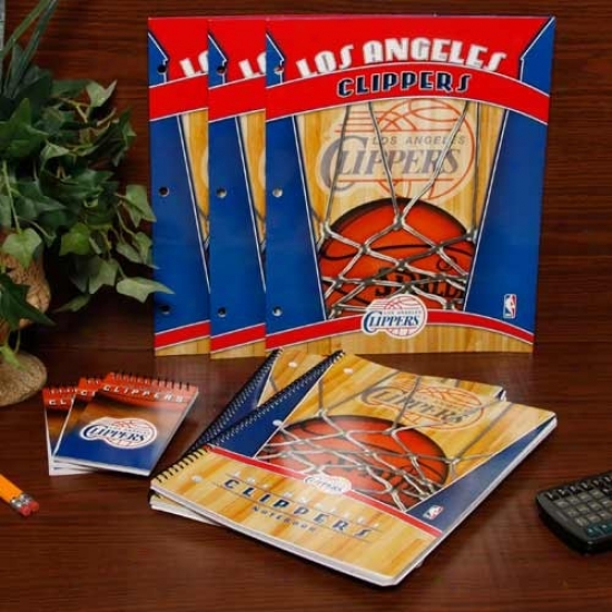 Los Angeles Clippers School Combo Pack