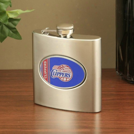 Los Angeles Clippers Stainless Steel Flask