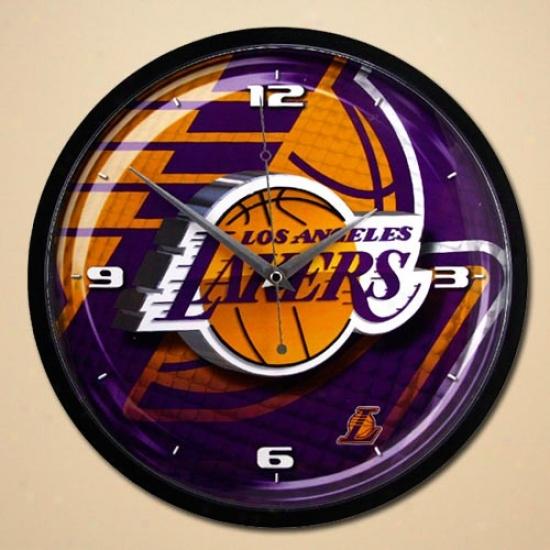 Los Angeles Lakers 12'' Wall Clock