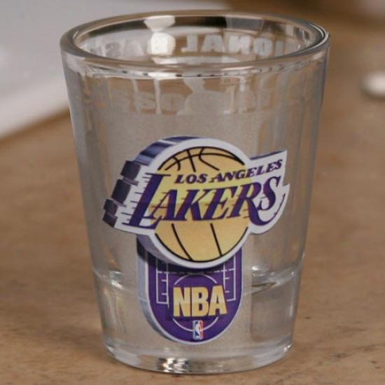 Los Angeles Lamers 2 Oz. Enhanced High Definition Shot Glass