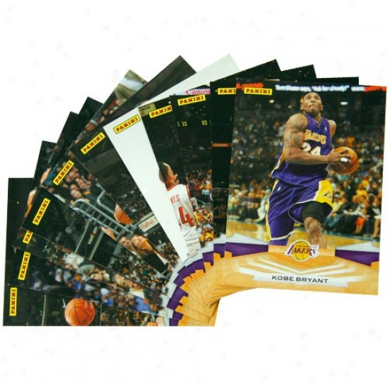 Los Angeles Lakers 2009 Panini Team Set Collectible Cards