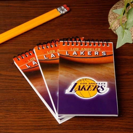 Los Angeles Lakers 3-pack Team Memo Pads
