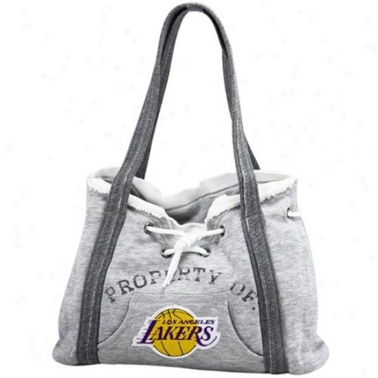 Los Angeles Lakers Ash Hpody Purse