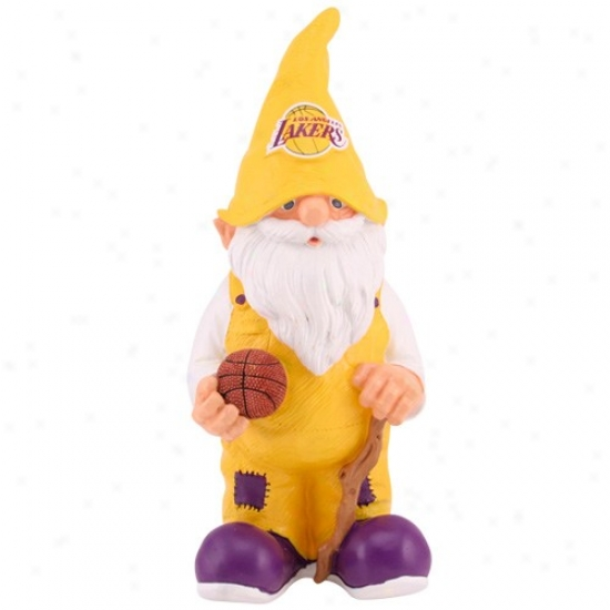 Los Angeles Lakerw Basketball Gnome Figurine