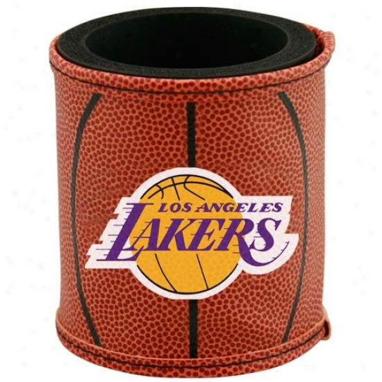 Los Angeles Lakers Brown Basketball Can Coolie