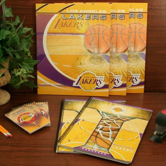 Los Angeles Lakers oCmbo School Pack