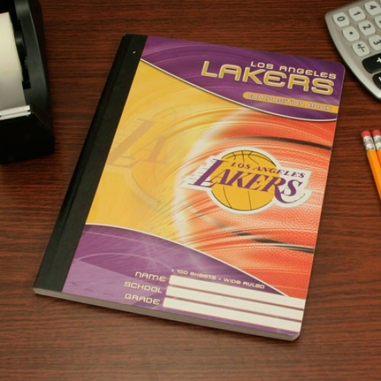 Los Angeles Lakers Composition Book
