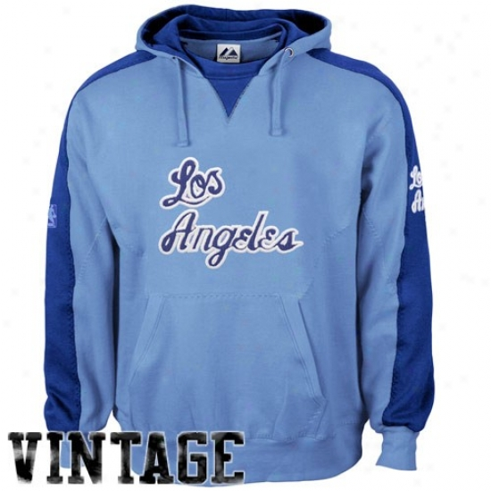 Los Angeles Lakers Fleece : Majestic Los Angeles Lakers Ligbt Blue Shaman Flwece