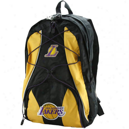 Los Angeles Lakers Gold-black Darth Backpack