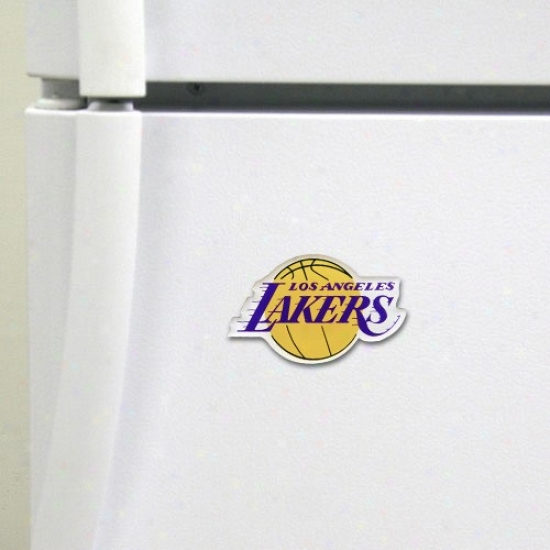 Los Angeles Lakers High Definition Magnet