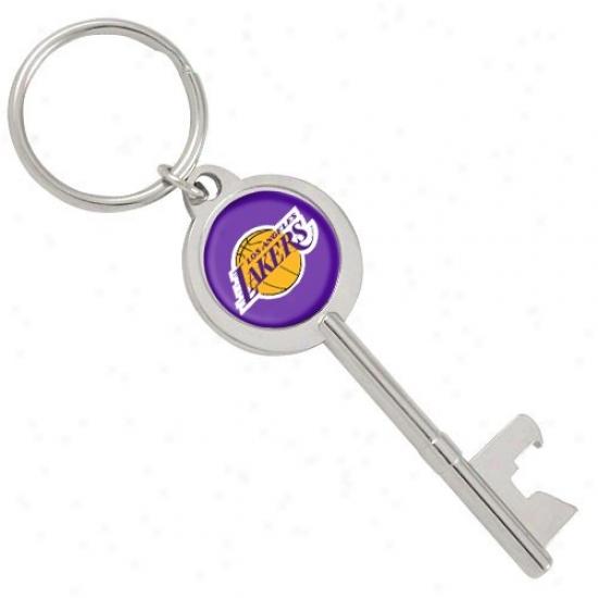 Los Angeles Lakers Key Bottle Opener Keychain