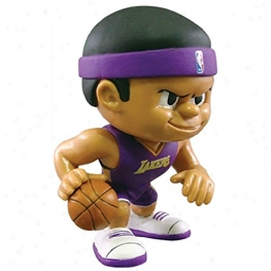 Los Angeles Lakers Lil' Teajmates Playmaker Figurine