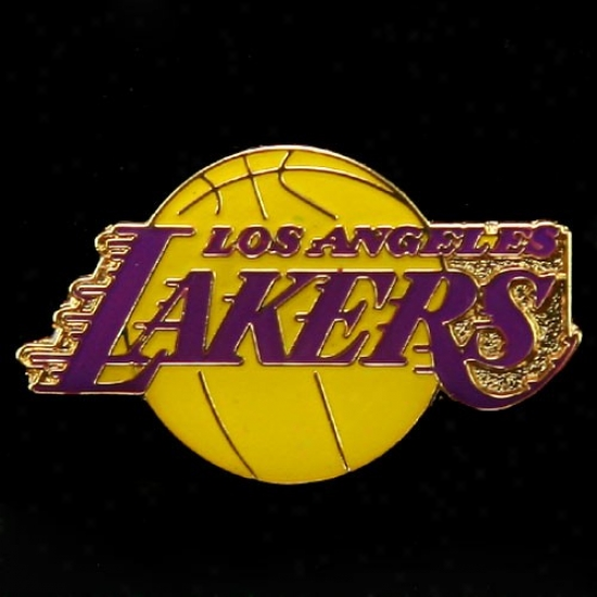 Los Angele Lakers Merchandise: Los Anfeles Lakers Team Logo Pin