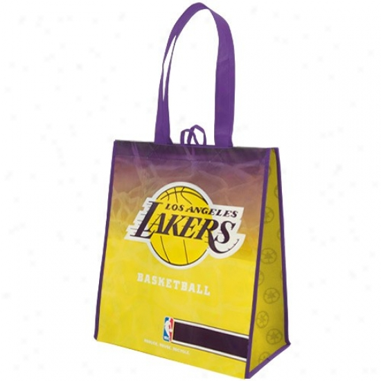 Los Angeles Lakers Purple-gold Fade Reusable Tots Bag