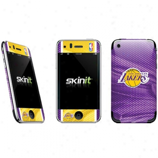 Los Angeles Lakers Purple-gold Iphone Skjn Defal