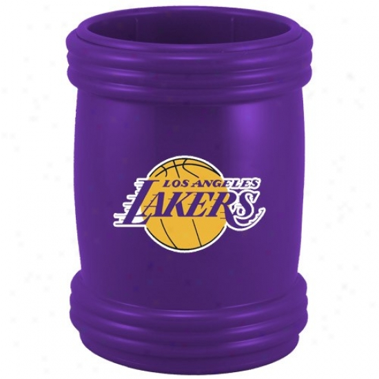 Los Angeles Lakers Purple Sports Magna-coolie Beverage Holder
