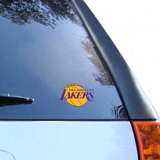 Los Angeles Lakers Feeble Window Cling