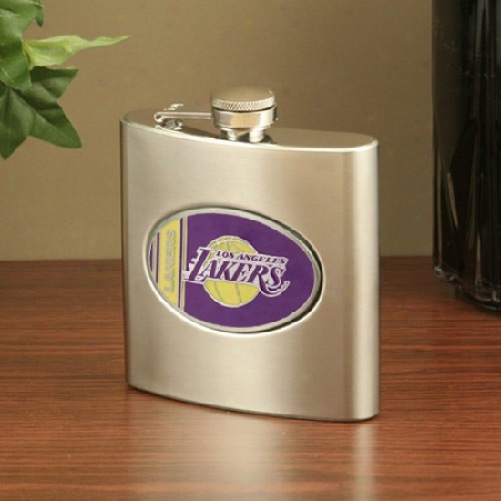 Los Angeles Lakers Stainless Steel Flask