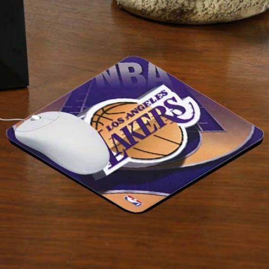 Los Angeles Lakers Team Logo Neoprene Mousepad