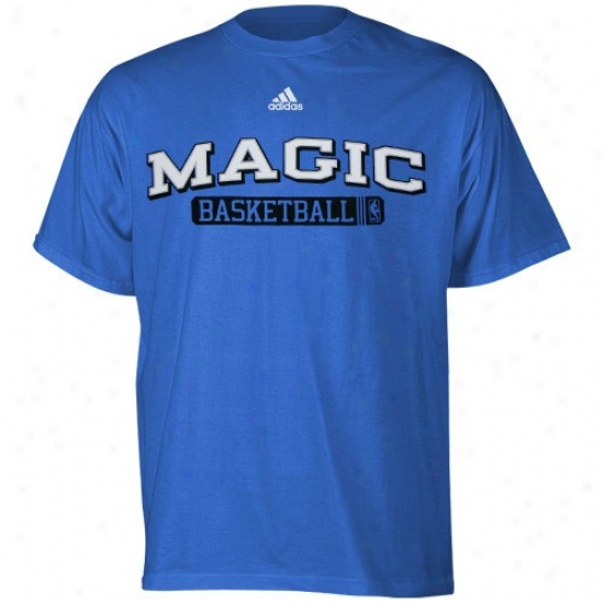Magic Apparel: Adidas Magic Royal Blue Double Ot T-shirt