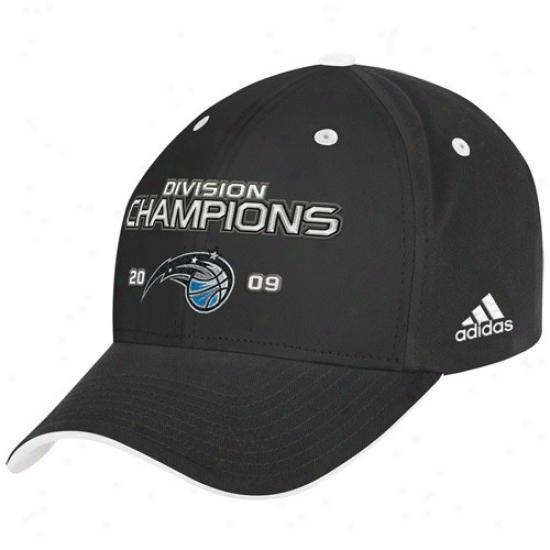 Magic Cap : Adidas Magic 2009 Southeast Division Champions Black Admustable Cap