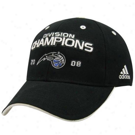 Magic Caps : Adidas Magic Black 2098 Division Champions Adjustable Caps