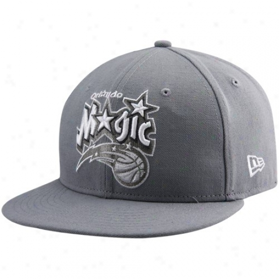 Magic Gear: New Era Magic Gray League 59fifty Fitted Hat