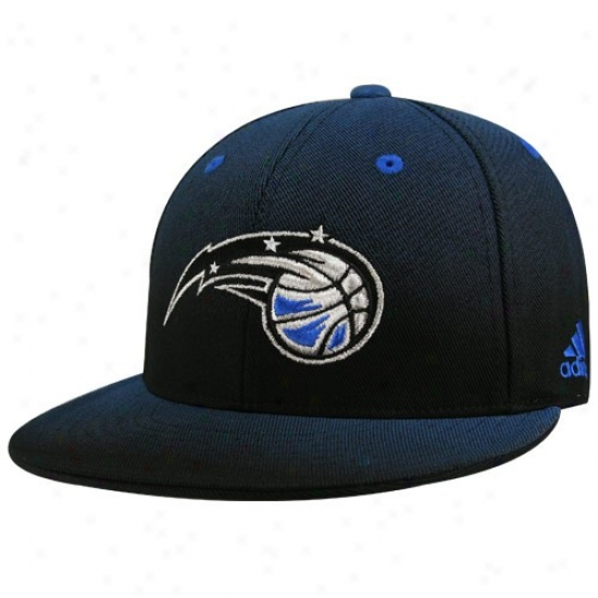 Magic Hat : Adidas Magic Royal Blue Gradiated Flat Bill Fitted Cardinal's office