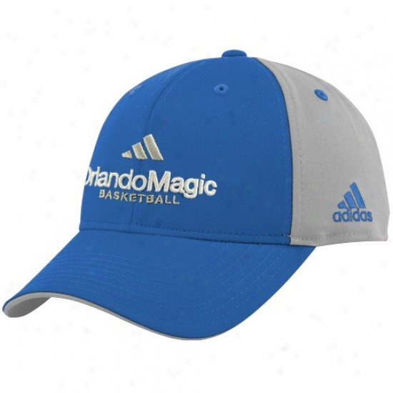 Magic Hats : Adidas Magic Light Blue-gray Multi Team Color Structured Hats