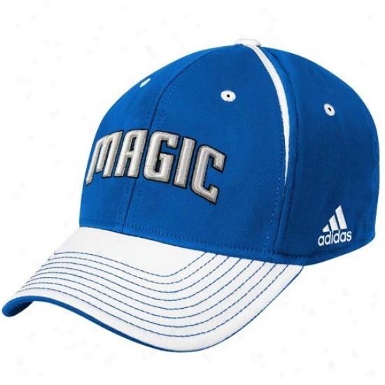 Magic Merchandise: Adidas Magic Light Blue Block Letter Flex Fit Hat