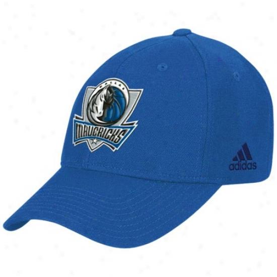 Mavs Merchandise: Adidas Mavs Light Blue Basic Logo Wopl Hat