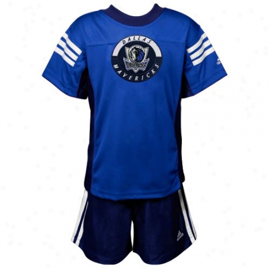 Mavs Shirt : Adidas Mavs Royal Blue Toddler Shirt & Shorts Set