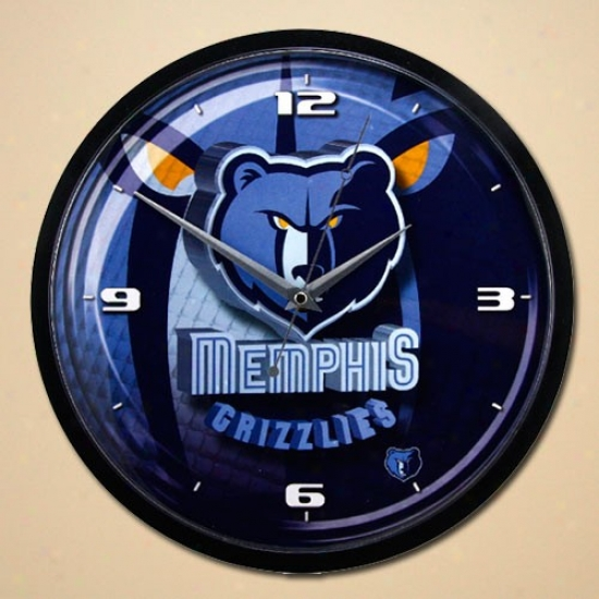 Memphis Grizzlies 12'' Wall Clock