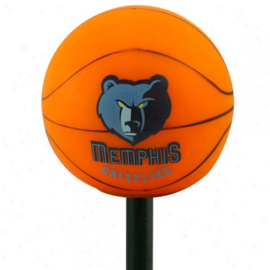 Memphis Grizzlies Basketball Antenna Topper