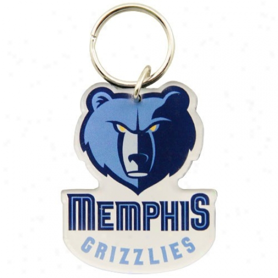 Memphis Grizzlies High Definition Keychain