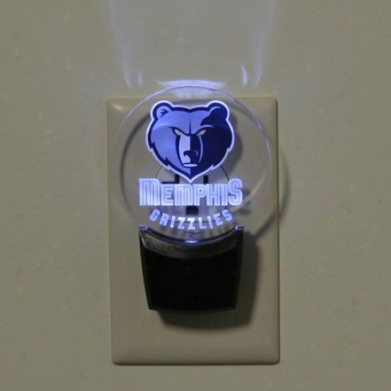 Memphis Grizzlies Led Night Light