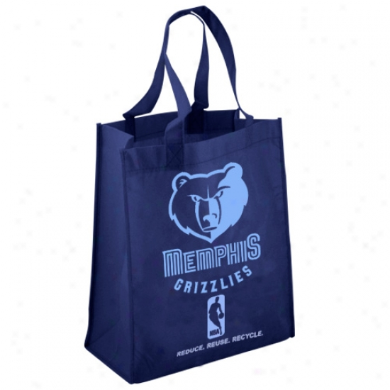Memphis Grizzlies Maroon Reusable Tote Bag